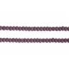Seedbead 10/0 Opaque Dark Mauve Strung